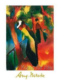 August Macke - Sonniger Weg