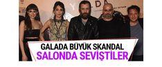 """""""Kaybedenler Kulübü""""nün ikinci filmi """"Yolda"""" vizyona girdi. Filmin galası iki gün önce akşam Kadıköy'deki Rexx Sineması'nda yapıldı.Yazar Cengiz Semercioğlu, oyuncu Kerem Fırtına'nın yanında oturduğu kadınla film boyunca öpüştüğünü yazdı."""