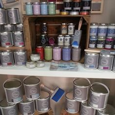 Diferentes formatos de pintura #chalk #fleurpaint #chalkylook #chalkpaint #decoracion #interiorismo #diy #crafts