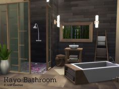 The Sims Resource: Kayo Bathroom by Angela • Sims 4 Downloads