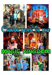 Characters in the Magic Kindgom