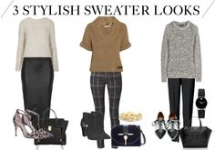 3 Chunky Sweater Styles