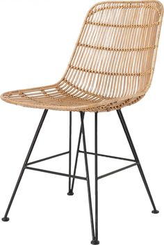 The design of the natural rattan dining by HK Living is as simple as it is amazing, making it a perfect match in almost any interior style. The natural rattan d Rattan Dining Chairs, Living Room Chairs, Outdoor Chairs, Outdoor Furniture, Design Shop, Deco Design, Furniture Styles, Furniture Design, Summer House Interiors