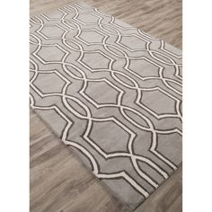 Found it at Wayfair - Town Hand-Tufted Gray/Ivory Area Rug
