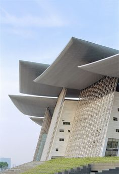 Wuxi Grand Theatre - Wuxi, China (2012);  designed by PES - Architects