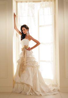 Some kind of wedding or trash the dress!