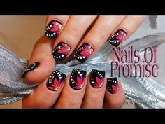 Live Nail Art Tutorial. Meditation. Nails Of Promise - YouTube