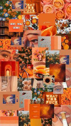 Wallpaper | Iphone Wallpaper Tumblr Aesthetic, Orange