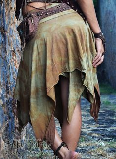 Tie Dye Pixie Skirt by SigaTribalwear on Etsy, €40.00