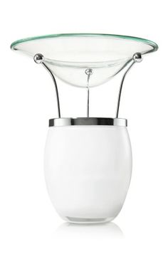 """Classic Oil Warmer - White - Slatkin & Co. - Bath & Body Works 15  Add up to 20 drops of our oil, light a tealight and enjoy Home Fragrance Oil and Tealights sold separately 5 1/4"""" high"""
