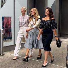 Sarah Jessica Parker, Kristin Davis, John Corbett, Kim Cattrall, Samantha Jones, Carrie Bradshaw, Cynthia Nixon, Terry De Havilland, Gossip Girl Reboot