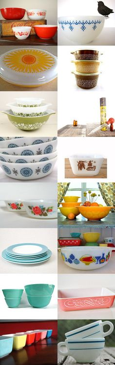 Vintage Pyrex  by Sacha and Michael on Etsy--Pinned with TreasuryPin.com