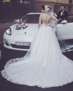15 Vestidos de noiva - modelos com manga comprida para vc se inspirar