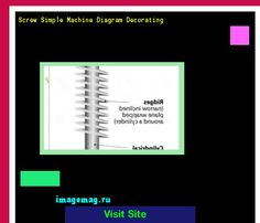 Screw Simple Machine Diagram Decorating 134559 - The Best Image Search