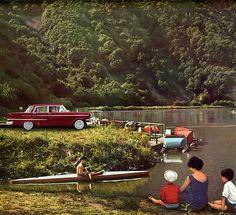 1960 calendar - Opel Kapitän