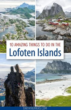 Best things to do in the Lofoten Islands, Norway. Best hikes, scenic drives, prettiest beaches, and more. #lofoten #lofotenislands #norway #bucketlist