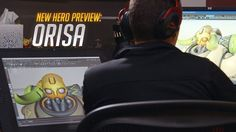 'Overwatch' hero Orisa started as a lovechild of Bastion and Zarya