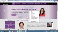 Nuevo sitio web oficial www.diana-bustamante.com.ar