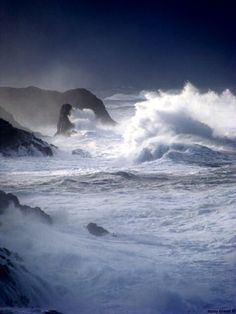 Storm ~ Depoe Bay, Oregon