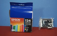 Ink Coupons For - Epson Ink 124 Black Genuine BLACK CARTRIDGE ONLY - http://www.inkcoupon.org/epson-ink-124-black-genuine-black-cartridge-only/
