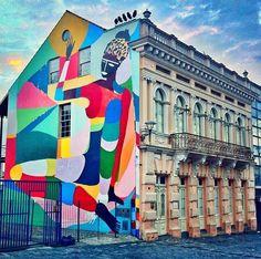 Street Art in Curitiba,Paraná - Brasil