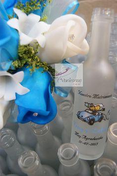 Botellitas-BODA WEDDING Estamos en Lima-Perú. También en el Facebook. V A N I R O S A S