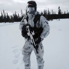 Sweedish Army Ranger.