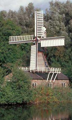 Sawing mill (spinnenkop), Wedderveer, the Netherlands