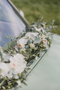 Soft Blooms + Pale Blue Wedding Inspiration at Hoveton Hall Blooms Blue Hall Hoveton Inspiration Pale Soft Wedding Wedding Shoot, Blue Wedding, Wedding Ceremony, Wedding Flowers, Wedding Day, Church Wedding, Elegant Wedding, Floral Wedding, Wedding Car Decorations