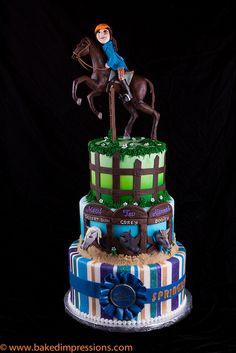 Renn Kuchen, Cake Cookies, Cupcake Cakes, Cowgirl Cakes, Farm Cake, Horse Cake, Horse Party, Animal Cakes, Pony Party