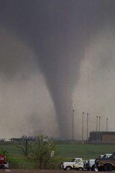 McConnell Air Force Base Tornado, Kansas, 1991