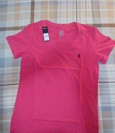 POLO RALPH LAUREN WOMEN'S Shirt PINK  2XL 100% Cotton #RalphLauren #Casual