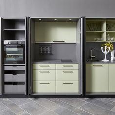 Cucine a scomparsa, Mini Cucine monoblocco | Pinterest | Micro ...