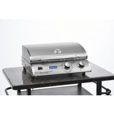 "20"" Electric Grill in Stainless Steel - Electric Grills - Cook Number Grills"