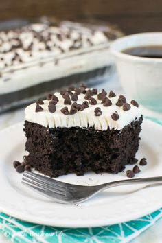 Chocolate and zucchini make this cake one you need to make ASAP!