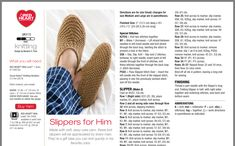 Knitted Slippers, Slipper Socks, Free Knitting, Knitting Patterns, Bed Socks, Knitted Heart, Paper Embroidery, Knitting Projects, Espadrilles