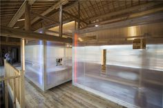 he wei papas hostel space within a space china designboom