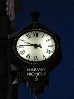 Harvey Nichols, Knightsbridge in London.