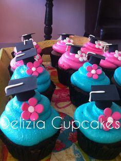 graduation kids cupcakes