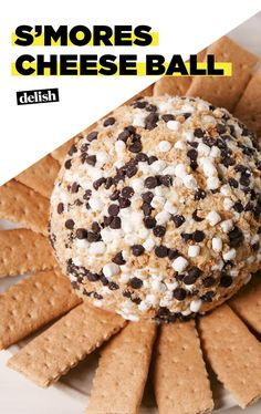 Celebrate Summer With A S'mores Cheese BallDelish