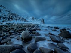 Unstad Beach, Lofoten, Norway by Henk Goossens  Unstad is in the wintertime a less visited beach comparing to the summer months. It's well known by surfers also.  https://f11news.com/26/05/2017/unstad-beach-lofoten-norway-by-henk-goossens