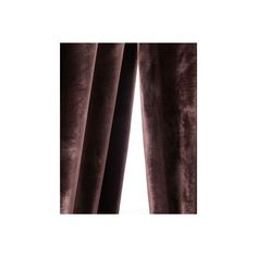 Softline Home Fashions Each 55W x 108L Tara Curtain (€115) ❤ liked on Polyvore featuring home, home decor, window treatments, curtains, espresso, lining curtains, tab curtains, softline home fashions and rod pocket curtains