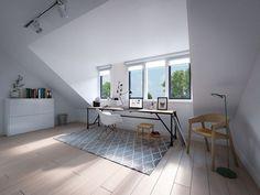 Hoasenda - Welcome my page Attic Loft, Loft Room, Bedroom Loft, Loft Conversion Bedroom, Dormer Loft Conversion, Attic Bedroom Designs, Attic Bedrooms, Dormer Bungalow, Bungalow Bedroom