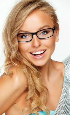 Women's stylish retro fashion eyeglasses from Genevieve Boutique Collection, Modern Optical International Tabitha. Handmade plastic/zyl frame rectangular retro available in black, brown and burgundy. Cute Glasses, New Glasses, Glasses Online, Girls With Glasses, Glasses Frames, Blonde With Glasses, Fashion Eye Glasses, Wearing Glasses, Womens Glasses