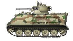 M113/ M163 Vulcan version