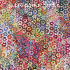 Gabi's Garden (detail) | 100% Kaffe Fasset - hexagons are a … | Flickr