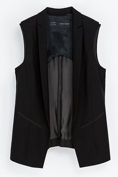 The 10 Items That'll Save Your Closet #refinery29 3. The Sleeveless Blazer — Feeling a little less than pulled together? We guarantee that throwing a sleeveless blazer on over whatever you're wearing will instantly streamline it. Sweats and a tee? A smock dress that's a tad shapeless? A sleeveless blazer can correct most levels of shlub.