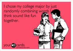 Social Work fun college majors