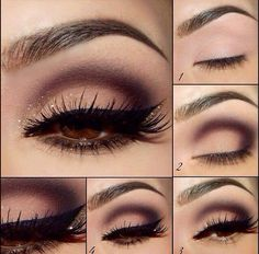 Cute late night party makeup
