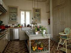 Une cuisine retro